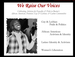 Home Page of We Raise Our Voices